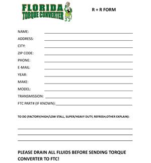 Download R&R Form