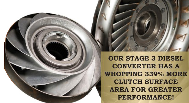 Powerstroke Diesel Performance Converters